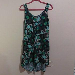 high low dress size XL